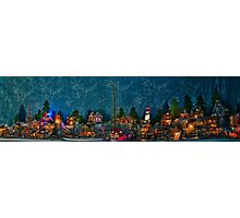 Christmas Village  Photographic Print