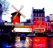 Vibrant Moulin Rouge by Leia