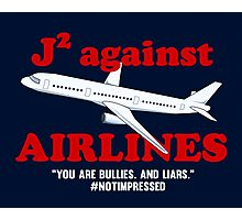 J2 Against Airlines (Supernatural) Photographic Print