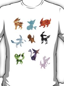 Eeveelutions // Together T-Shirt