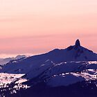 Black Tusk, Whistler, BC, Canada by Michael Tomkinson