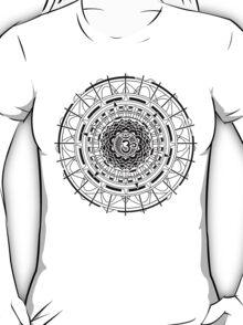 Mandala Om (black)  T-Shirt