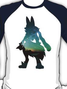 Mega Lucario used Aura Sphere T-Shirt