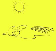 Charging Pikachu by saikuron