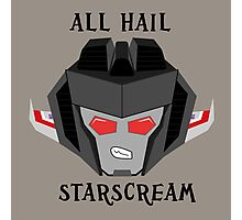 All Hail - Starscream Photographic Print