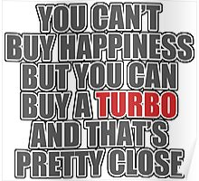 Happiness is Turbo Poster