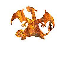 Charizard used Blast Burn Photographic Print