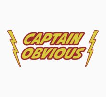 Captain Obvious Superhero by TheShirtYurt