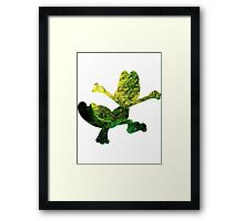 Treecko used Grass Knot Framed Print