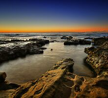 Cowrie Hole at Dawn 4 by Mark Snelson