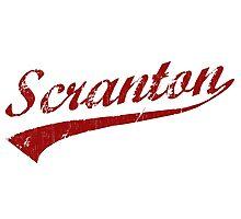 I Love Scranton Pennsylvania Photographic Print
