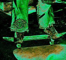 Toxic Skater by InfinityRain