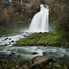 Waterfall after the rain by Patrick Morand