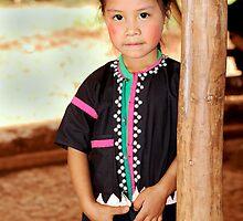 Hill-tribe Girl  by Alexander Gitlits