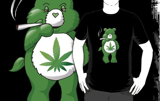 Ganja Bear by Bonnie Aungle