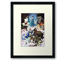 Rise of the Tsubasa Chronicles Framed Print