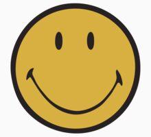 Yellow smiley – Luke Hemmings by movieshirt4you