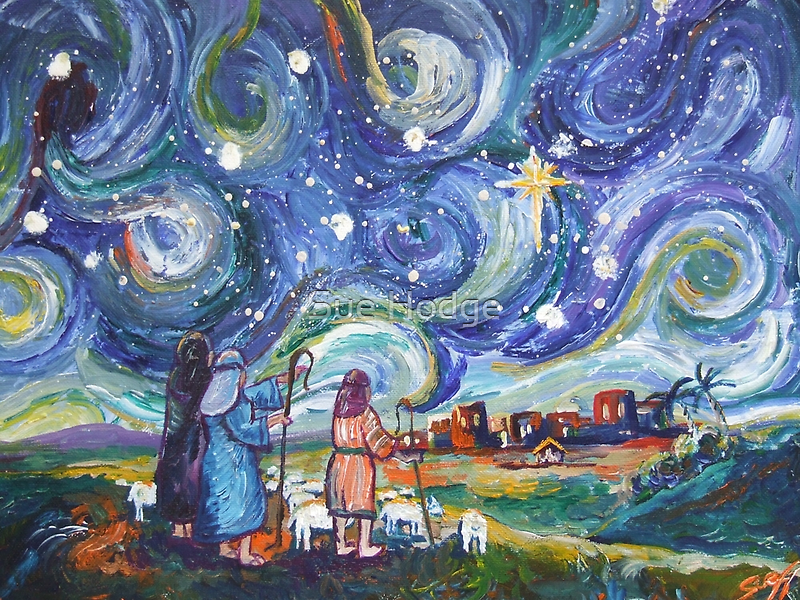 The Shepherds by Sue Hodge