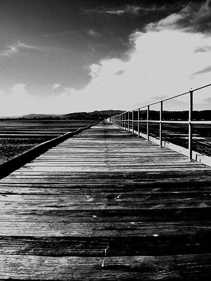 Port Germein Jetty by Shannon Mowling