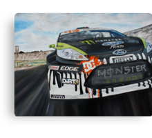 Ken Block Gymkhana Monster Energy Canvas Print