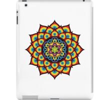Flower of Life Metatron's Cube iPad Case/Skin