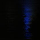 Blue Lights on the Night Water by Tara Chiu