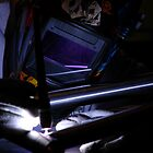 welding in the dark by Hawk