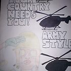 you country needs you, army style by originalsin