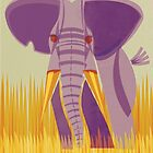 Elephant Conservation Illustration by David Orr