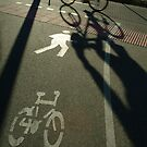 morning cyclist, Perth, Western Australia by nick page