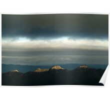 First Ray's Grampians Poster