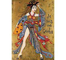 Je Suis Une Geisha Photographic Print