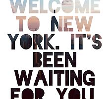 Welcome To New York- Taylor Swift by Deborah  Stormborn
