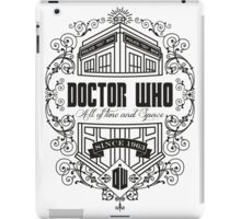 Doctor Who All the Time and Space Vintage iPad Case/Skin