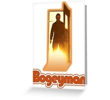 Halloween II Bogeyman Tee Greeting Card