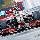 Lewis Hamilton by iconic-arts