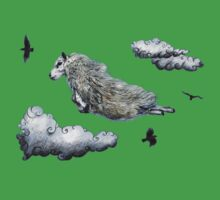 Flying sheep Kids Clothes
