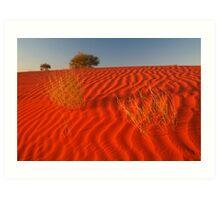 Sundown Madigan Line Simpson Desert Art Print