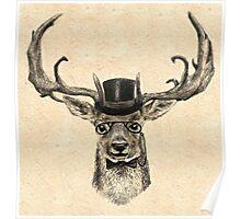 Mr Deer Poster