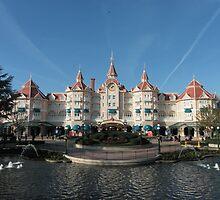 Disneyland Paris Hotel  by HellyJelly