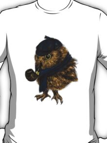 Sherlock // owl T-Shirt