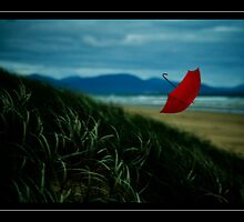 red umbrella by ambientlight