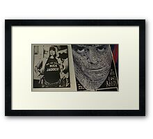 Keith Richards speaks the truth Framed Print