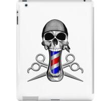 Barber Skull and Scissors iPad Case/Skin