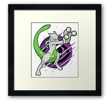 #150, Shiny Mewtwo Framed Print