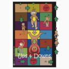Ups & Downs Tee Design by Jienn Heibloem