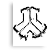 Defqon. 1 Logo -Sticker Edition- Canvas Print