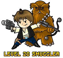 Level 20 Smuggler by WarpZoneGraphic
