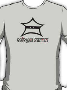 Black Ninja Star  T-Shirt