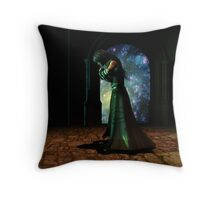 Obeisance Throw Pillow